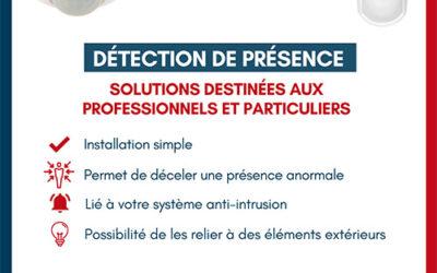 Les détecteurs de présence